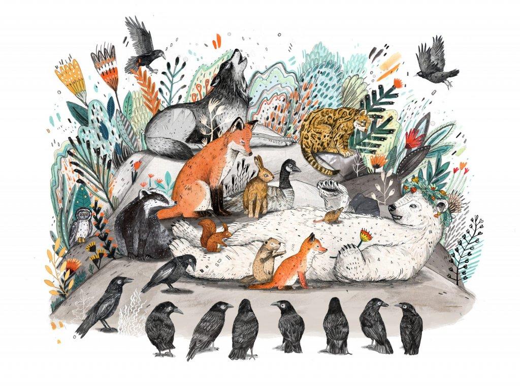 """Sandra Dieckmann (professionnelle) - Livre pour enfants """"Leaf"""""""